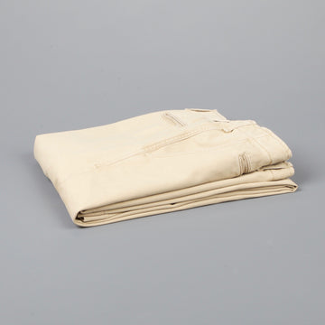 President's Chino Stevie in Japanese Selvedge Gabardine Beige