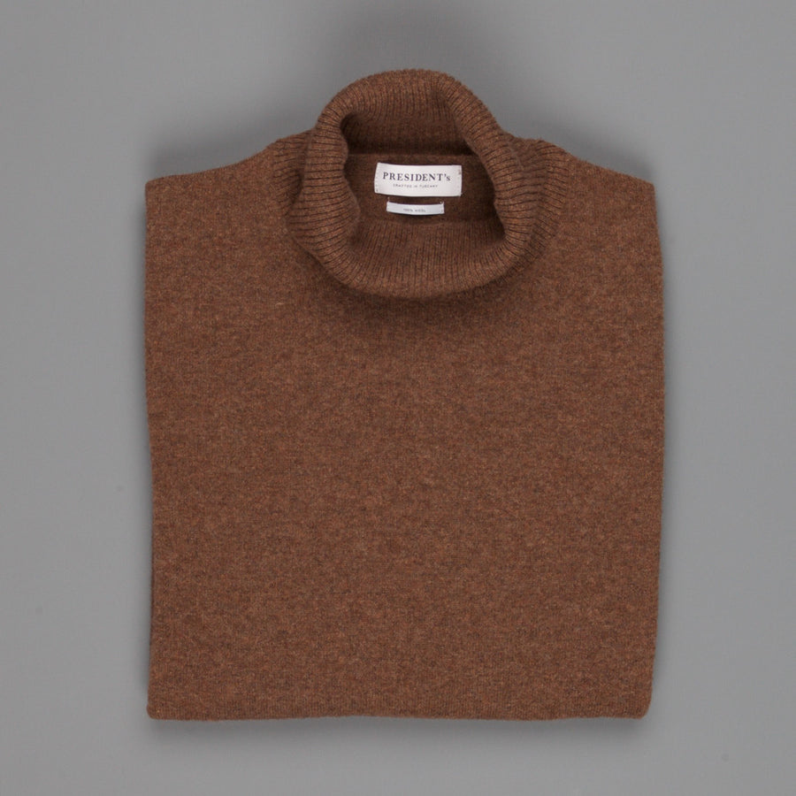President's turtle neck washed wool Rock
