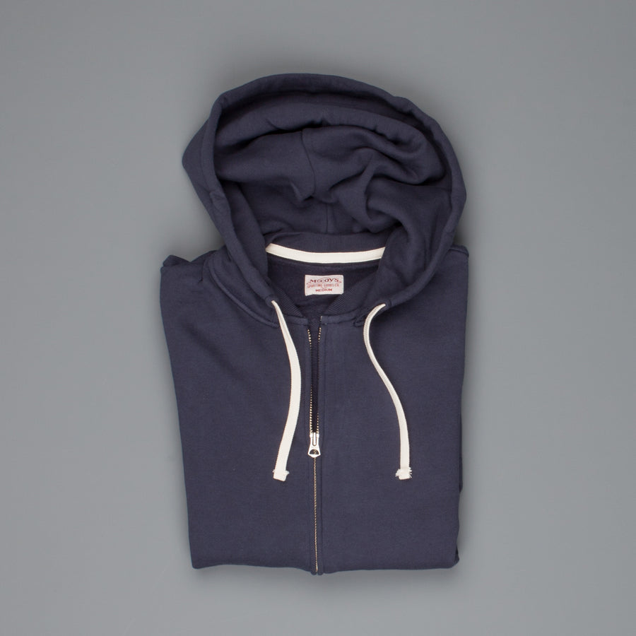 Real McCoy's Sweat parka navy