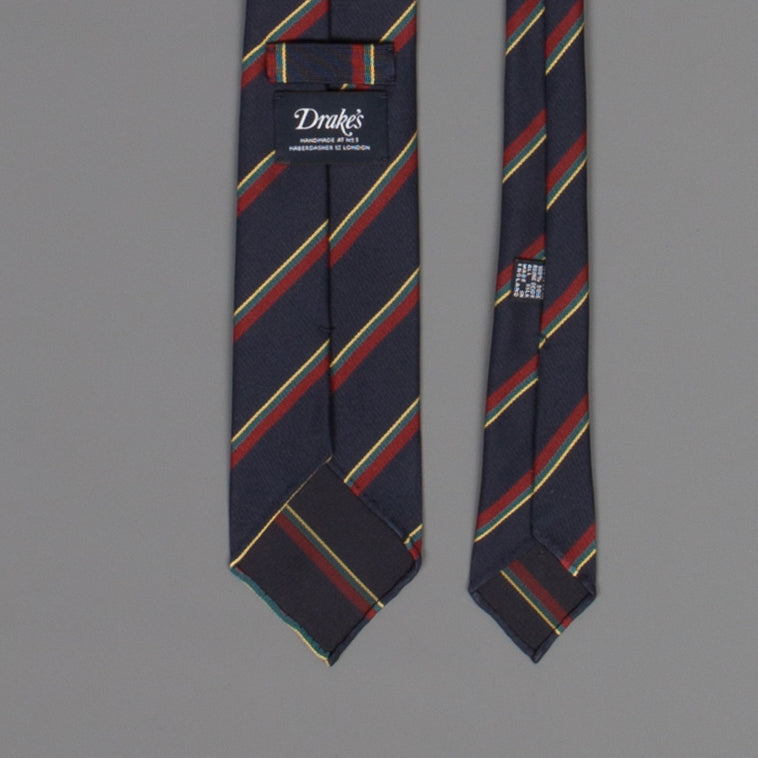 Drakes super repp Regimental tie Royal Marines
