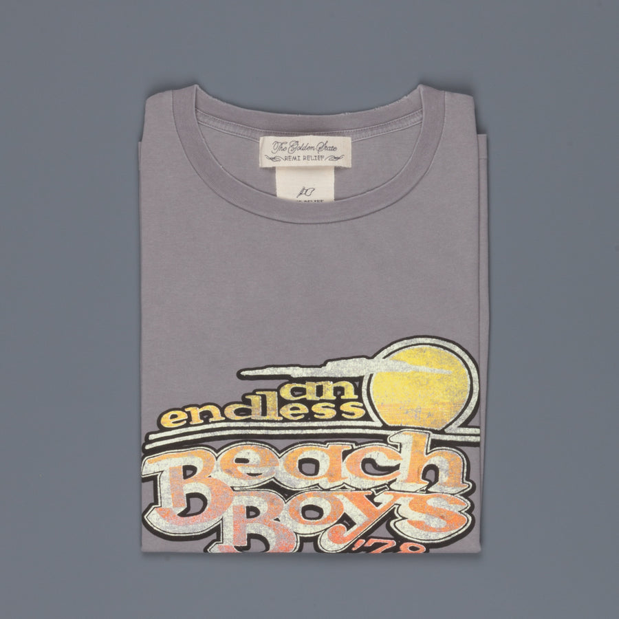 Remi Relief Special Finish T-shirt Beach Boys '78 light gray
