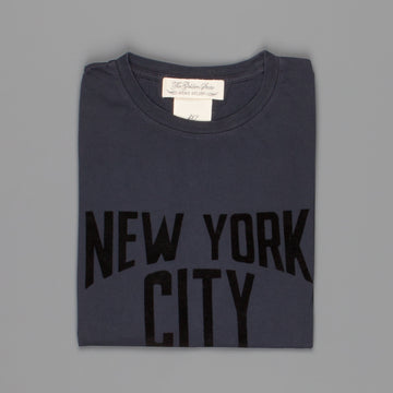 Remi Relief Long Wash Finish T-Shirt NYC Navy