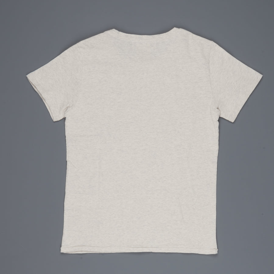 Remi Relief Recycled Cotton Special Finish T-shirt NASA oatmeal
