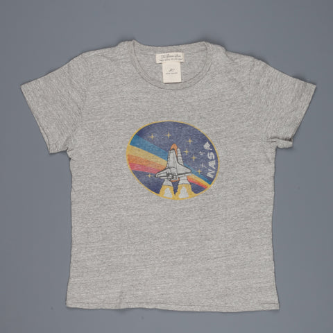 Remi Relief Recycled Cotton Special Finish T-shirt NASA heather gray