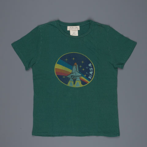 Remi Relief Recycled Cotton Special Finish T-shirt NASA green
