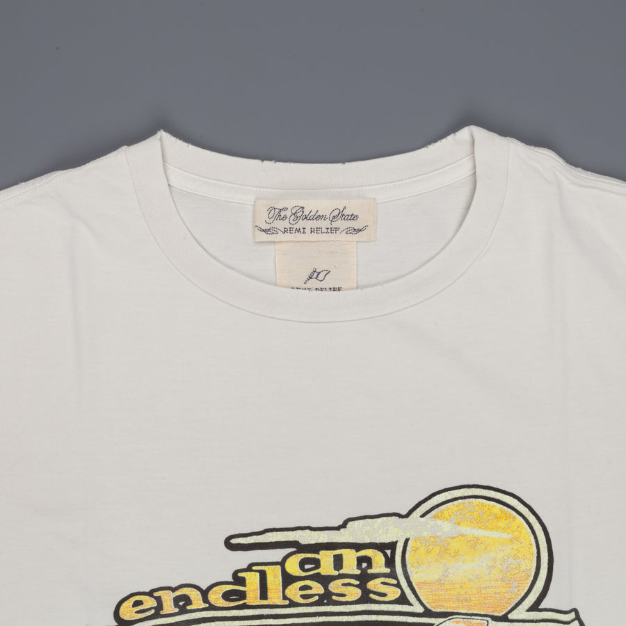 Remi Relief Special Finish T-shirt Beach Boys '78 off white