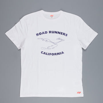 TSPTR road runner California tee white