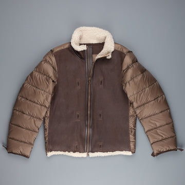 Ten C Shearling Liner Tobacco