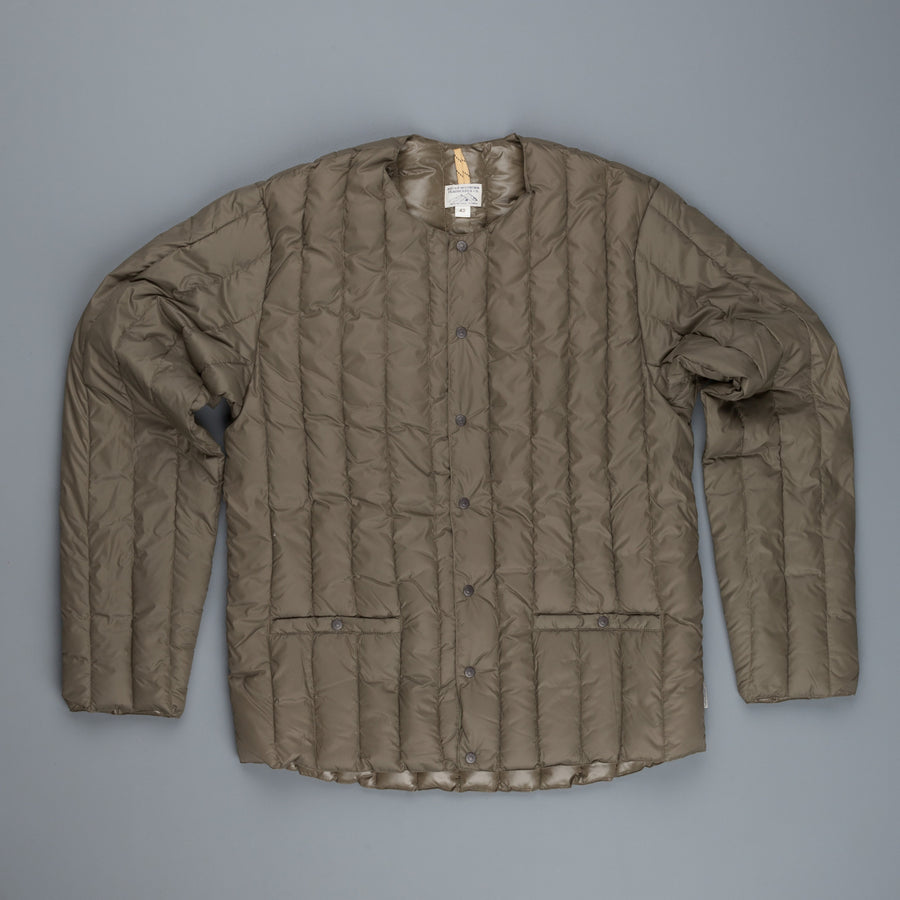 Rocky Mountain Featherbed Six month cardigan Olive