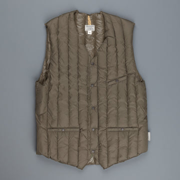 Rocky Mountain Featherbed Six month vest V-neck Olive