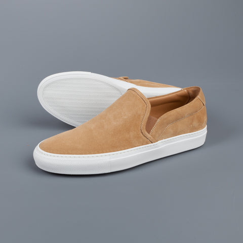 Common Projects Slip on in Suede Tan
