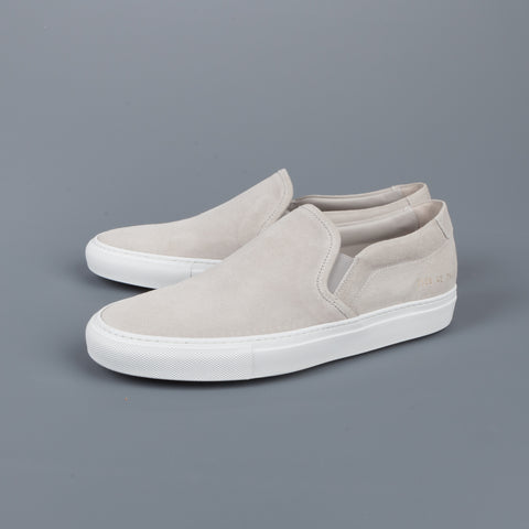 Common Projects Slip on in Suede Grey