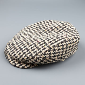 Stetson Belfast in houndstooth black-off white
