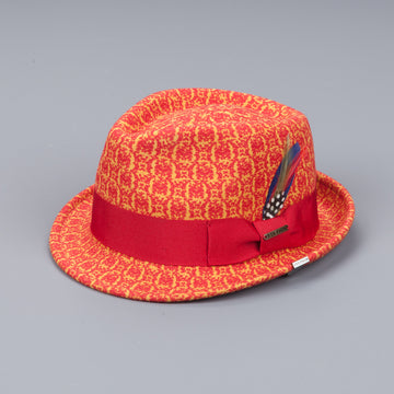 Stetson Pueblo wool felt hat red
