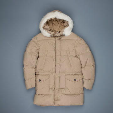 Ten C Heavy Down Parka Khaki Chiaro