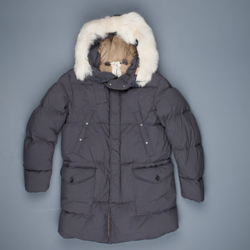 Ten C Heavy Down Parka Grigio Ombre
