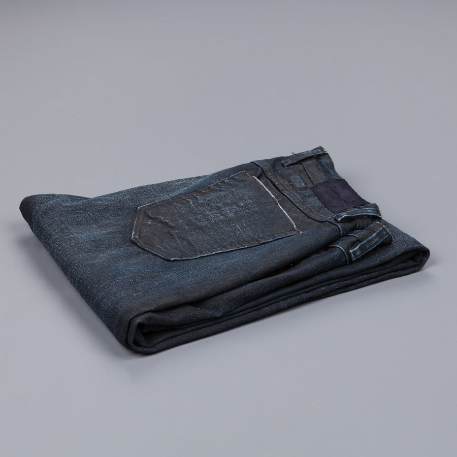 Terra Null tapered denim black coating