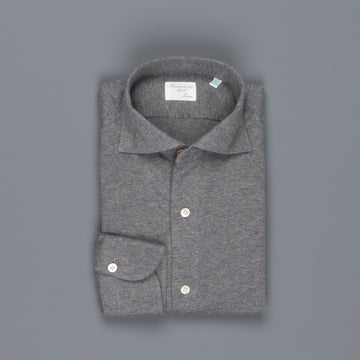 Finamore Toronto fit collo Simone Cotton/Cashmere Grey