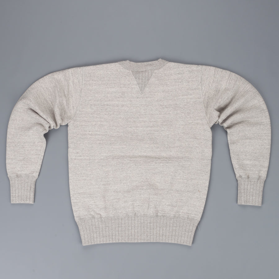 Studio D'Artisan 9882 loopwheel back sweater grey