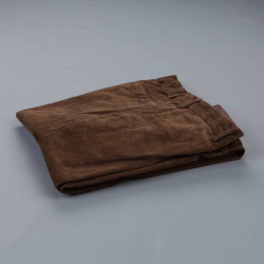Orgueil OR 1038 cord trousers brown