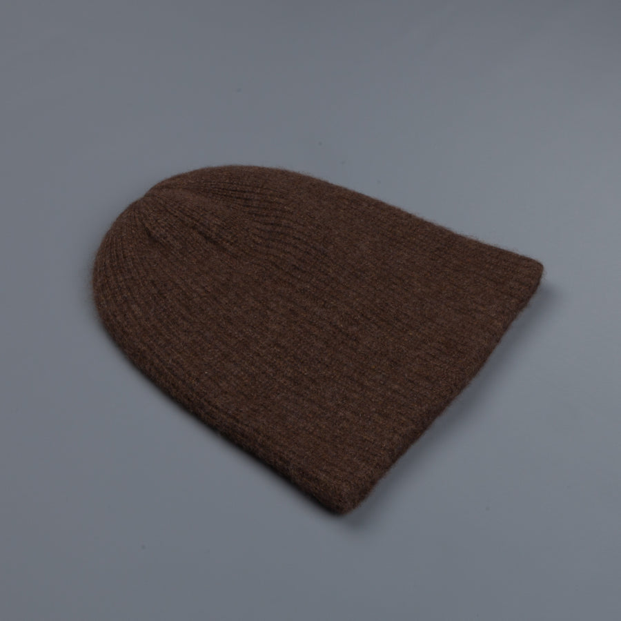 The Elder Statesman 100% Cashmere Watchman cap Cigar