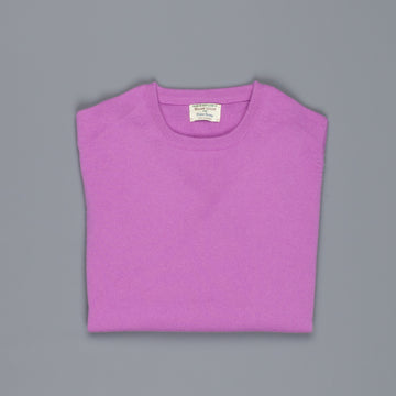 William Lockie Oxton Cashmere Crew Neck Thistle