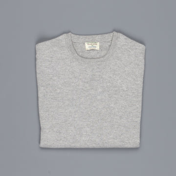 William Lockie Oxton Cashmere Crew Neck Brume