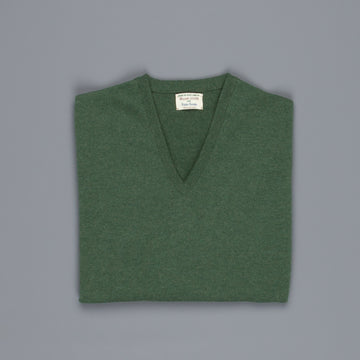 William Lockie Oxton Cashmere V-Neck Serpentine