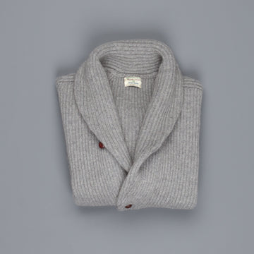 William Lockie Windsor Cashmere Shawl Cardigan Flannel