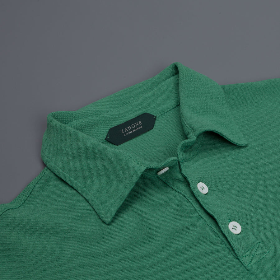 Zanone ML Polo Ice Piquet Verde Chiaro Frans Boone Store Exclusive