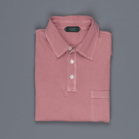 Zanone MC Polo Peach