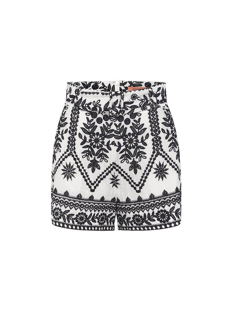 MONICA EMBROIDED SHORTS Short Rodeo Show