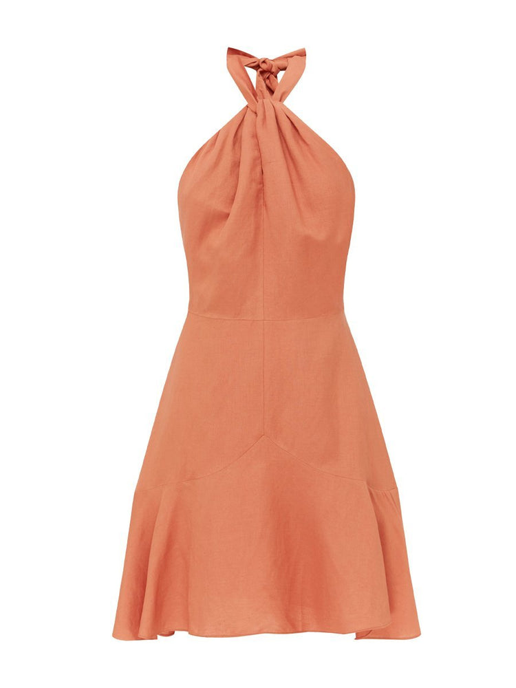 SAVOY MINI DRESS - CORAL Dress Rodeo Show