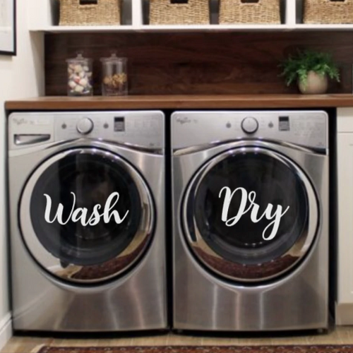 Washer/ Dryer Labels