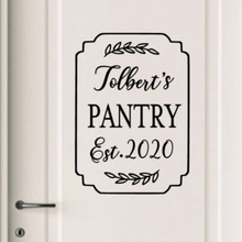 Load image into Gallery viewer, Pantry Door Decal