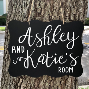 Custom Dorm Room Sign