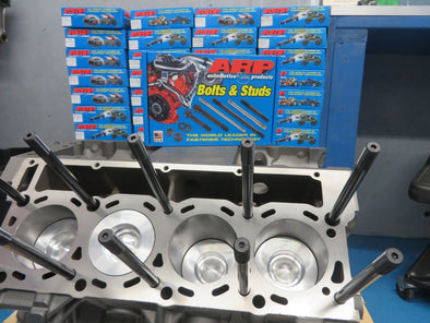 Boxes of ARP Head Stud kit for Ford 6.0L Powerstoke