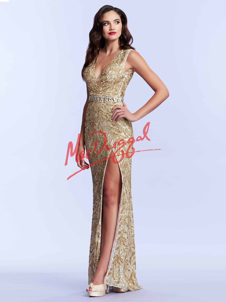 Mac Duggal 4115 - The Pageant Boutique UK  - 1