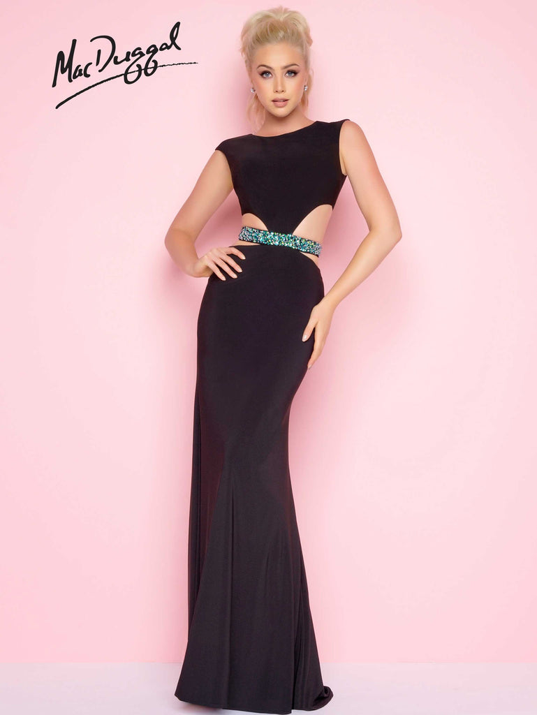 Mac Duggal 65512L - The Pageant Boutique UK  - 1