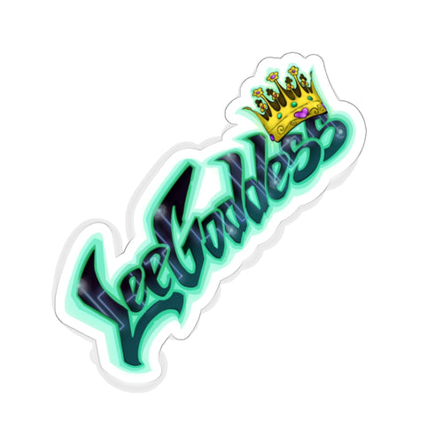Queen Leegoddess: Kiss-Cut Stickers