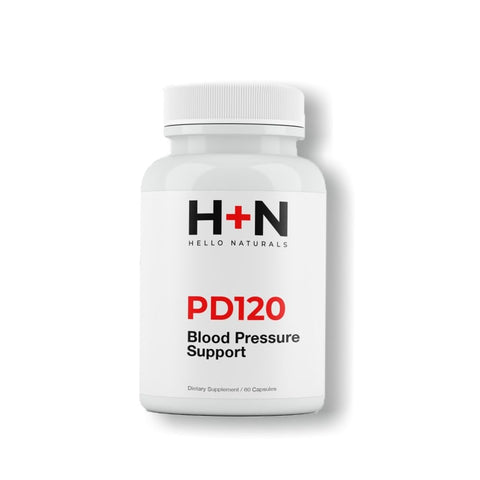 Blood Pressure PD120® Natural Supplement 1 Month Supply