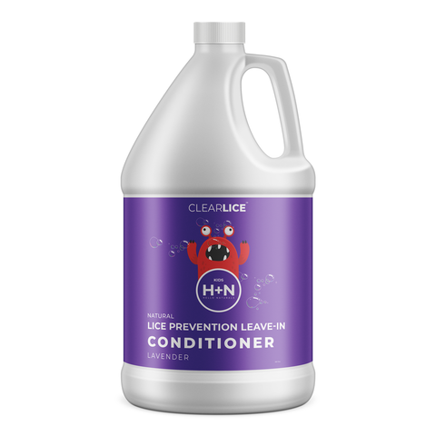 Natural head lice prevention conditioner. Prevent your kids to get head lice with Clearlice