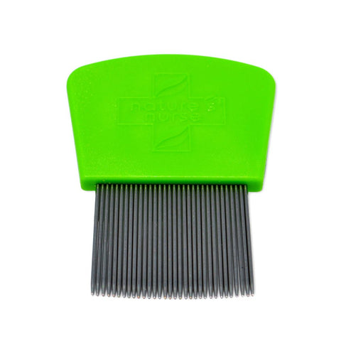 Stainless steel nit comb to treat and get rid of lice