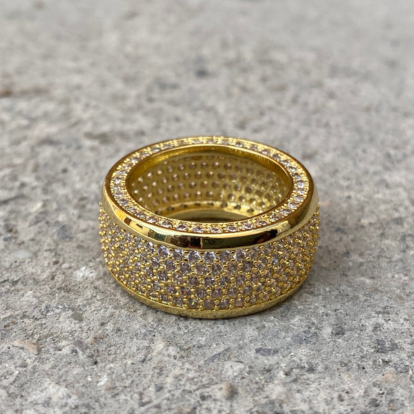 Barrel Ring - Gold