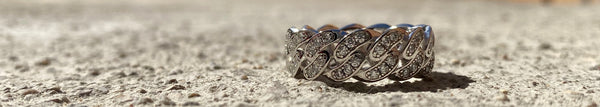 Thorn Ring - White Gold