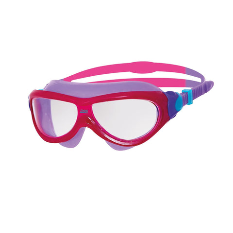 Zoggs Phantom Junior Maske Rosa Lila Flieder