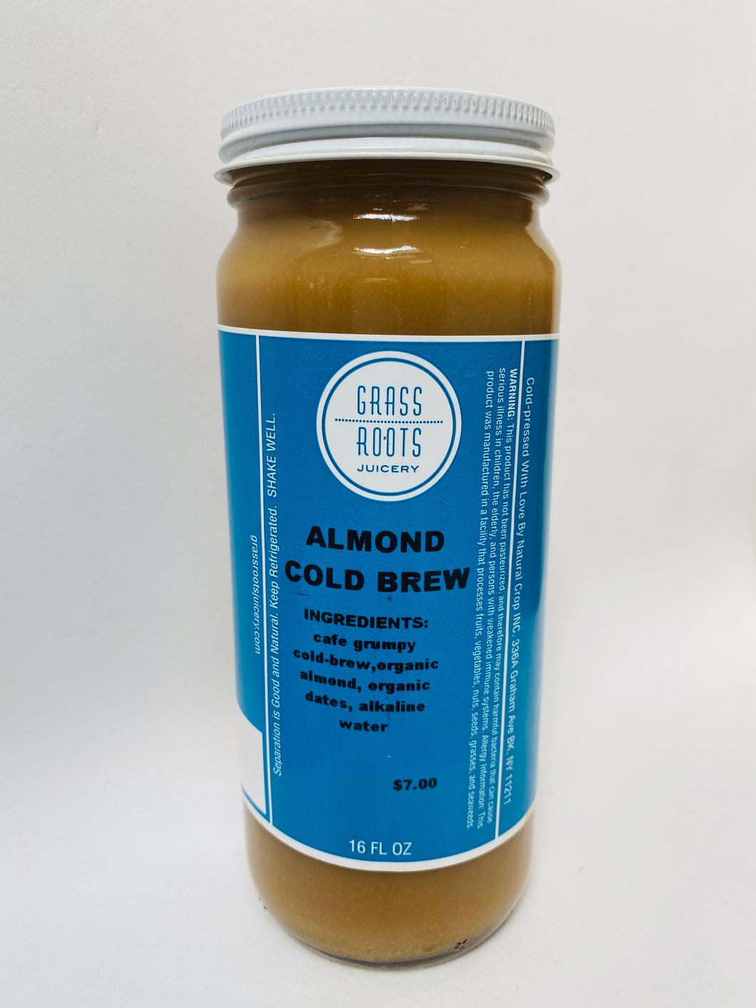 Almond Milk Cold Brew