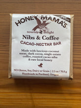 Load image into Gallery viewer, Honey Mamma's Nibs & Coffee Chocolate Bar
