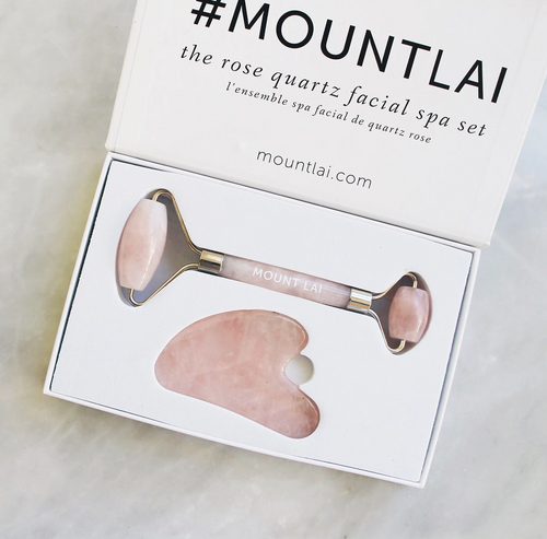 Rose Quartz Facial Set