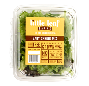 Local baby Spring mix